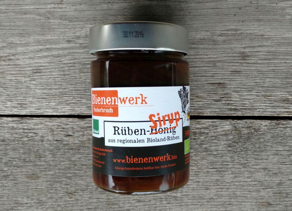 Bioland Rübensirup 485g Glas