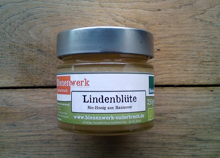 Bioland Lindenblütenhonig 250g Glas
